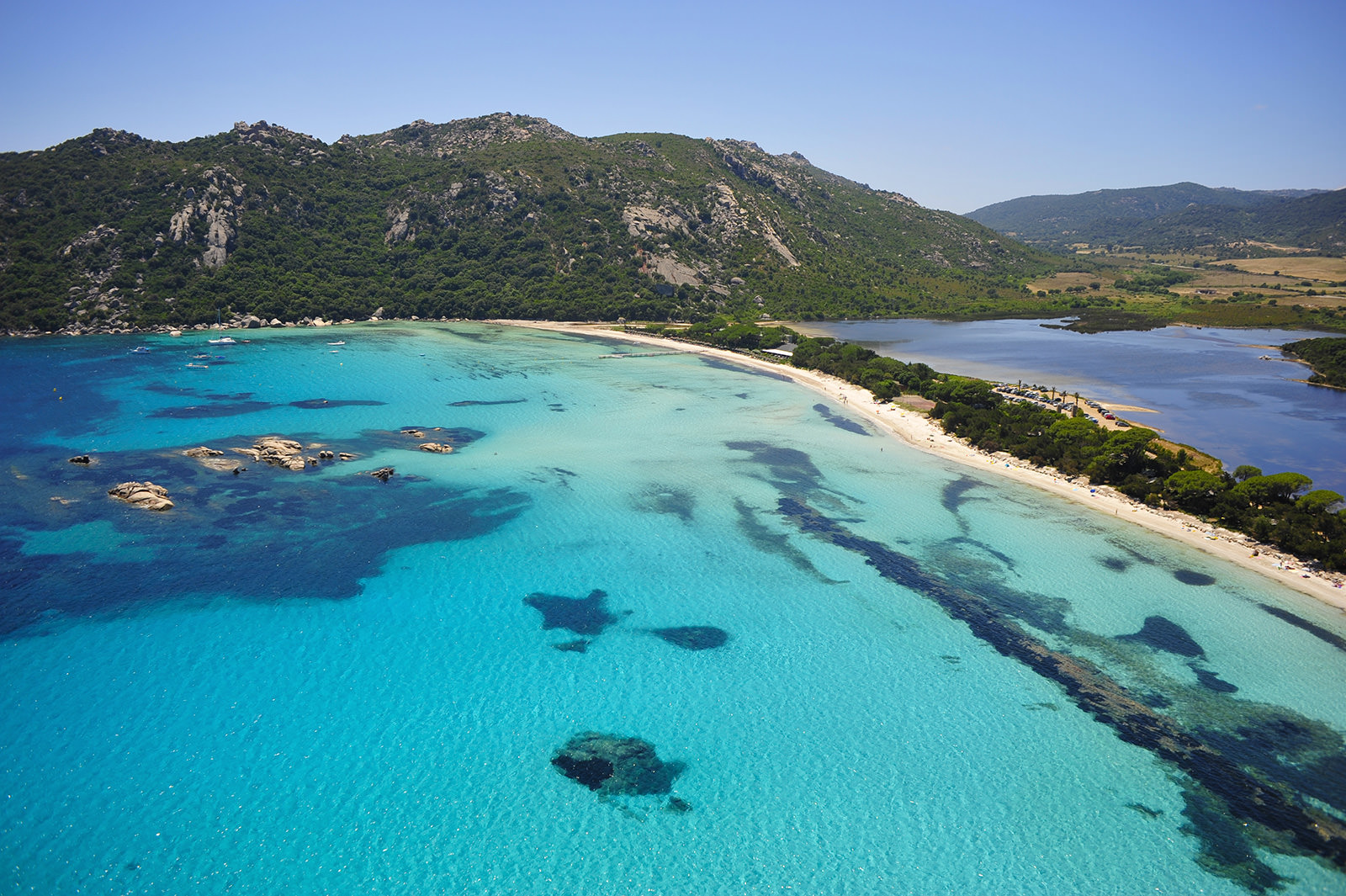 The Beaches In Southern Corsica